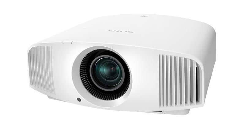 Sony vpl vw260es blanc vid oprojecteurs home cin ma sur - Videoprojecteur home cinema pour un interieur ultra moderne ...
