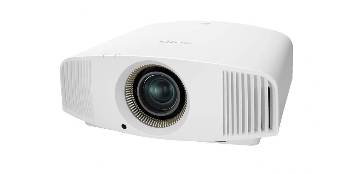 Sony vpl vw550es blanc vid oprojecteurs home cin ma sur - Videoprojecteur home cinema pour un interieur ultra moderne ...