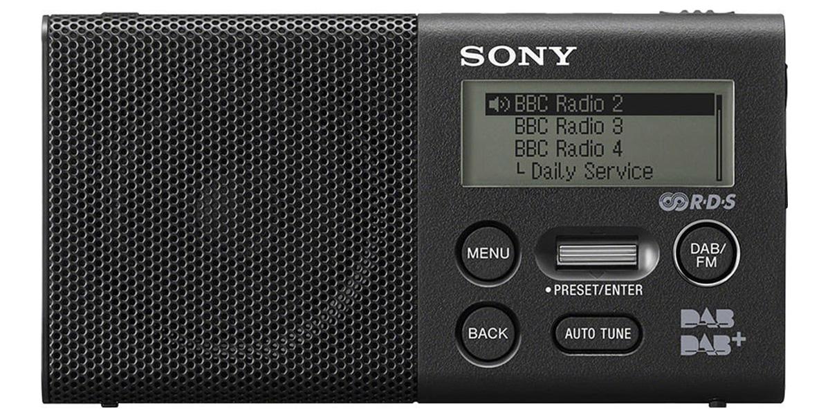 Sony XDR-P1DB Noir