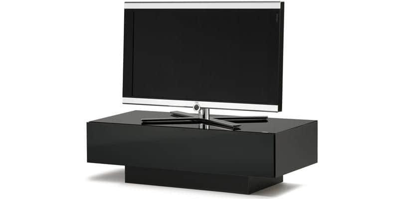 spectral brick 1200 noir meubles tv spectral sur easylounge. Black Bedroom Furniture Sets. Home Design Ideas