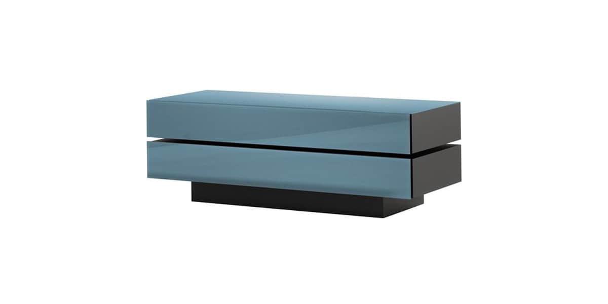 Spectral brick 1202 bleu meubles tv spectral sur easylounge for Meuble brick