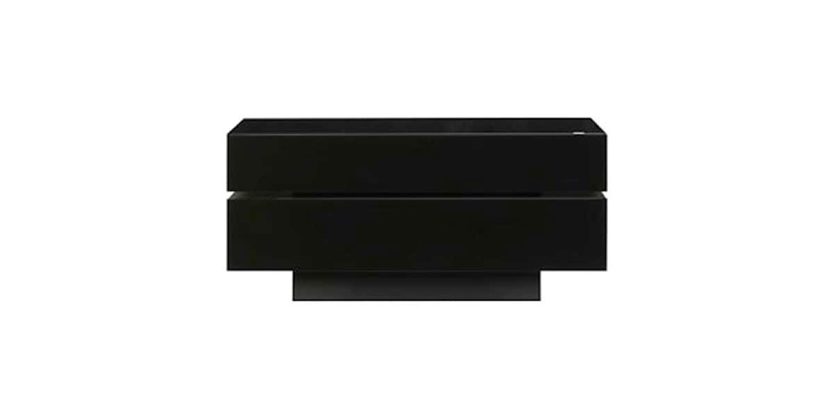 Spectral brick 1203 noir meubles tv spectral sur easylounge for Meuble brick laval