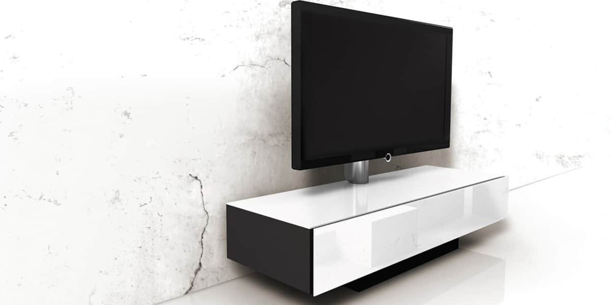 spectral brick 1500 t blanc meubles tv spectral sur easylounge. Black Bedroom Furniture Sets. Home Design Ideas