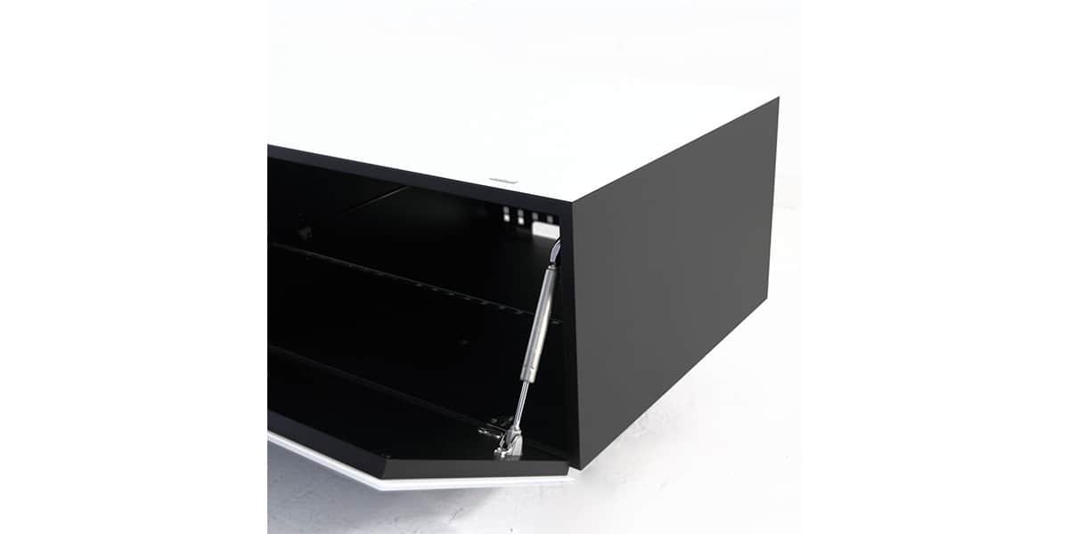 Spectral brick 1501 blanc meubles tv spectral sur easylounge for Meuble brick