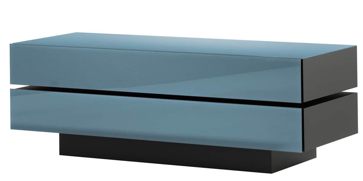 spectral brick 1502 bleu gris meubles tv spectral sur easylounge. Black Bedroom Furniture Sets. Home Design Ideas