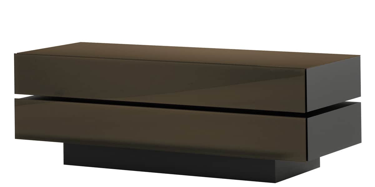 Spectral brick 1502 marron meubles tv spectral sur for Meuble brick