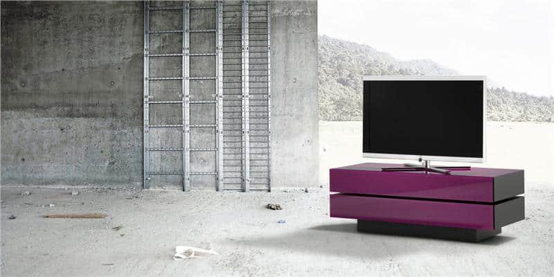 Spectral brick 1502 violet meubles tv spectral sur for Meuble brick