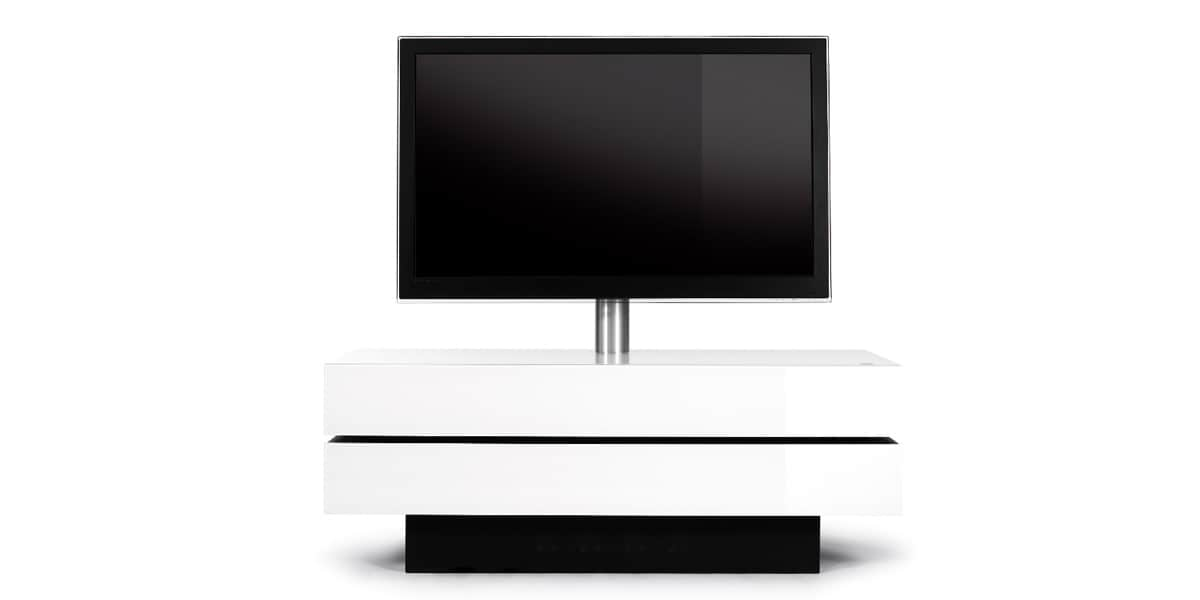 spectral brick 1502 t blanc meubles tv spectral sur easylounge. Black Bedroom Furniture Sets. Home Design Ideas