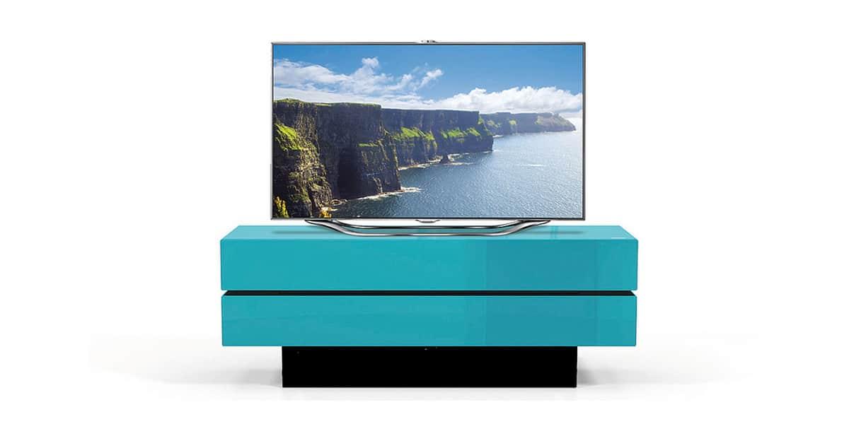 Spectral brick 1502 bleu meubles tv spectral sur easylounge for Meuble brick