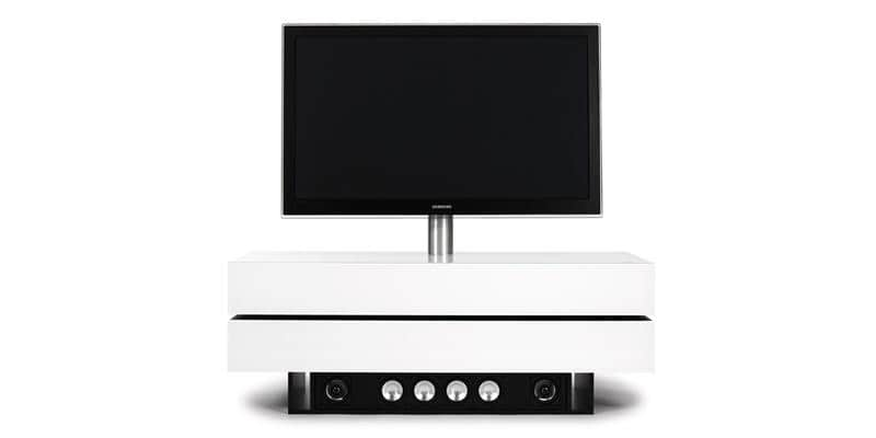 Spectral brick 1503 blanc son meubles tv spectral sur - Meuble tv infrarouge ...