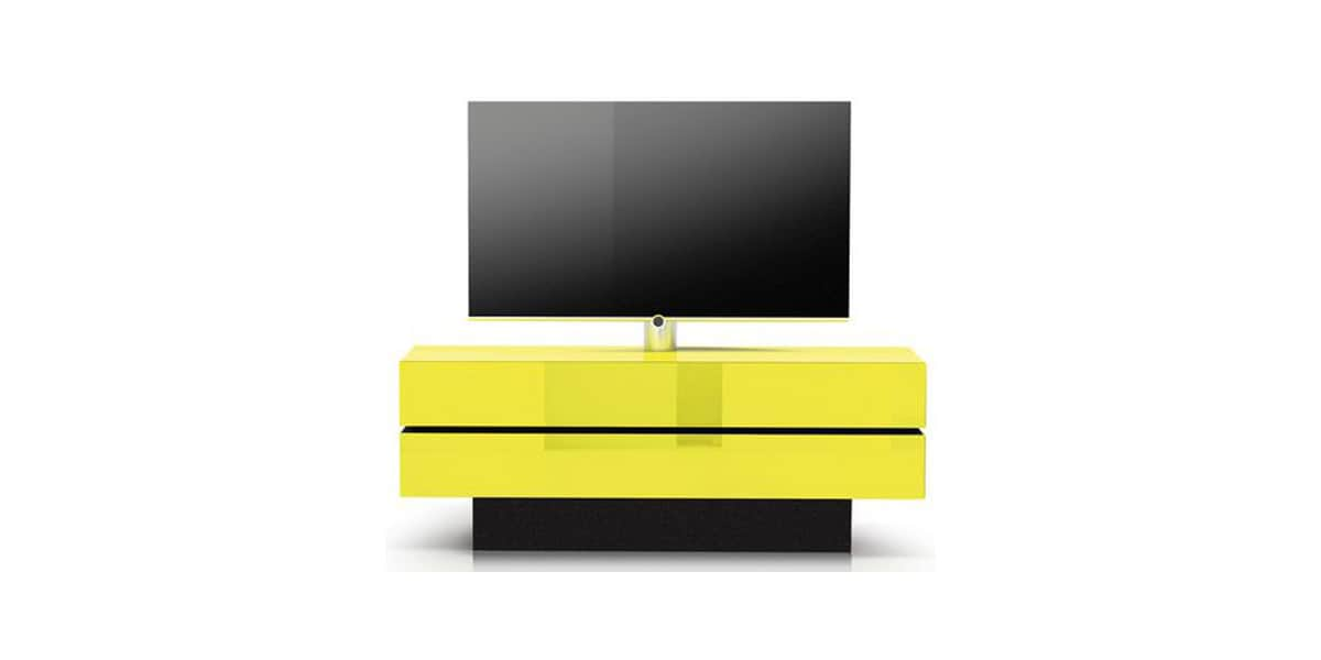 spectral brick 1503 sl t80 jaune meubles tv spectral sur easylounge. Black Bedroom Furniture Sets. Home Design Ideas