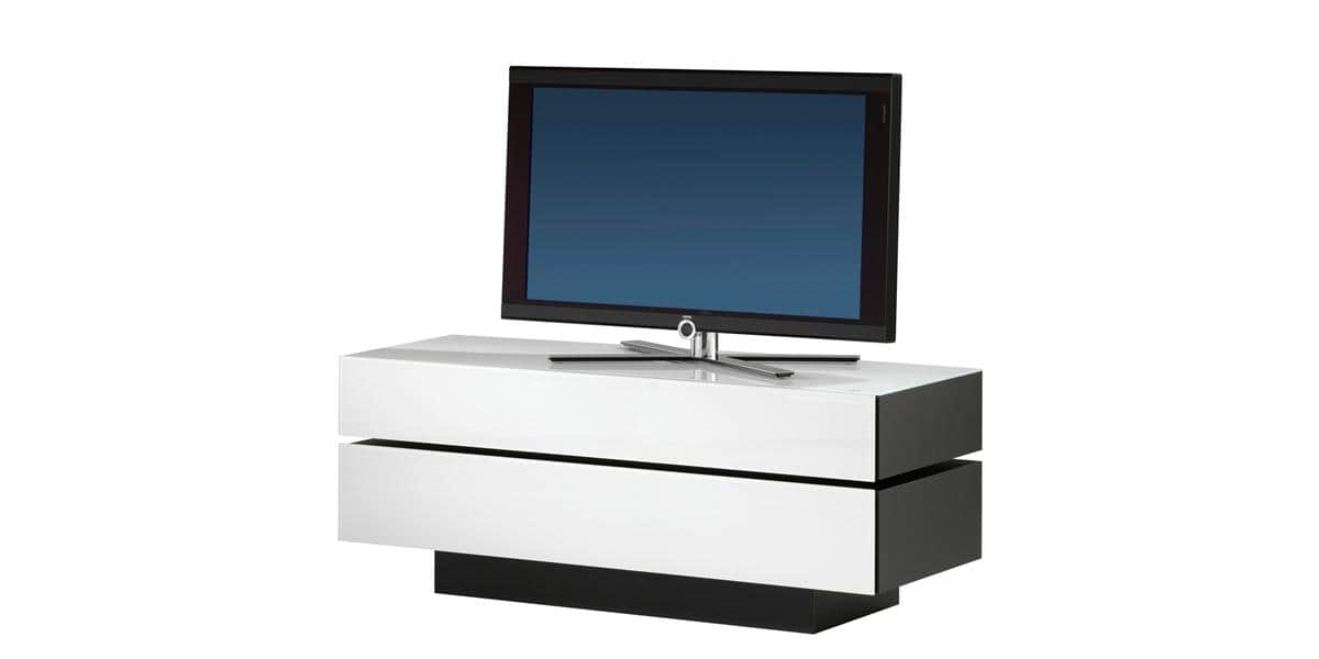 spectral brick 1503 blanc meubles tv spectral sur easylounge. Black Bedroom Furniture Sets. Home Design Ideas