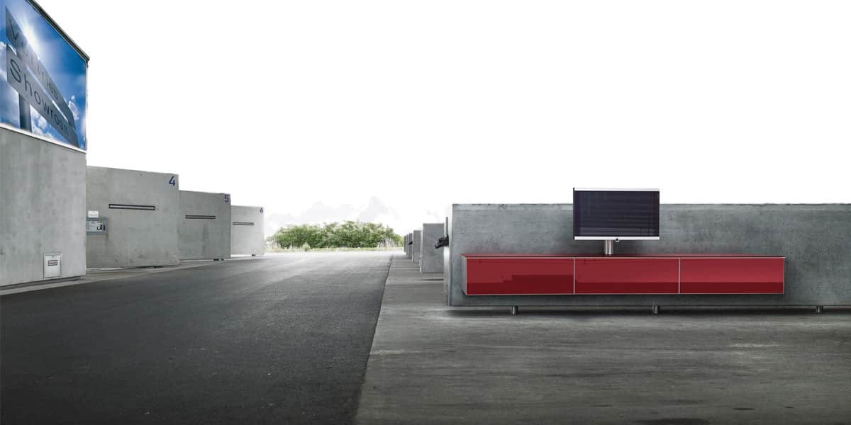 spectral catena05 rouge meubles tv spectral sur easylounge. Black Bedroom Furniture Sets. Home Design Ideas