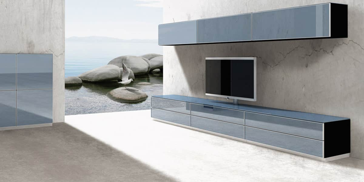 spectral catena06 bleu meubles tv spectral sur easylounge. Black Bedroom Furniture Sets. Home Design Ideas