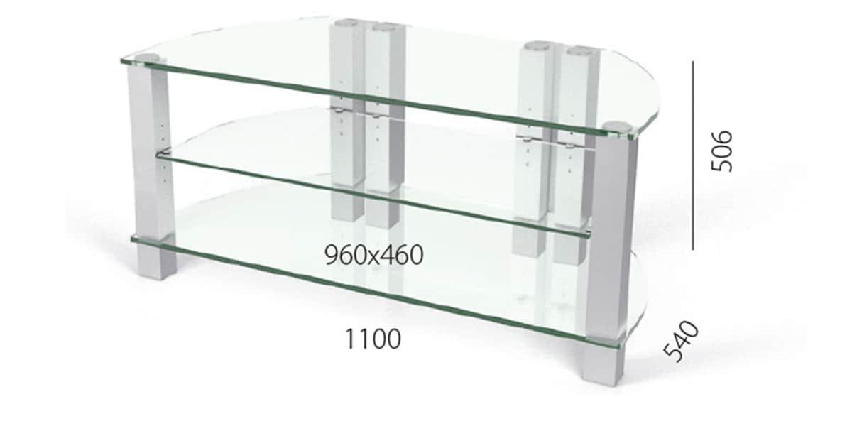 spectral corner 10110 clair meubles tv sur easylounge. Black Bedroom Furniture Sets. Home Design Ideas