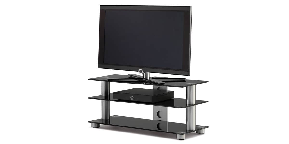 spectral screen 93 noir meubles tv spectral sur easylounge. Black Bedroom Furniture Sets. Home Design Ideas