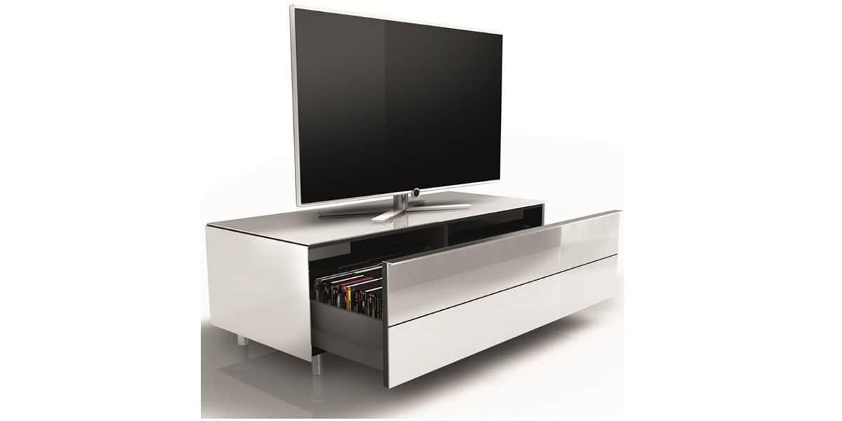 Spectral scala 1650 noir avec tirroir easylounge - Meuble tv avec tiroir ...