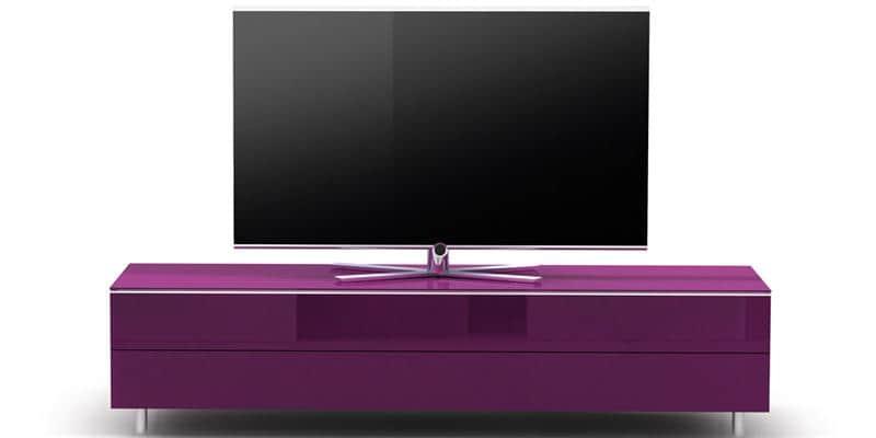 Spectral scala 1650 violet meubles tv sur easylounge - Meuble tv violet ...
