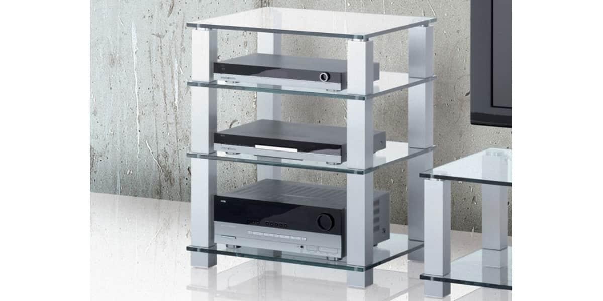 spectral hsl614 verre clair meubles hifi sur easylounge. Black Bedroom Furniture Sets. Home Design Ideas