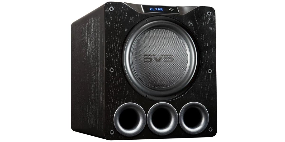 SVS PB16-Ultra Bois noir