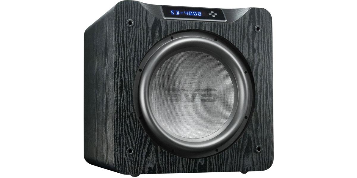 SVS SB-4000 Bois noir