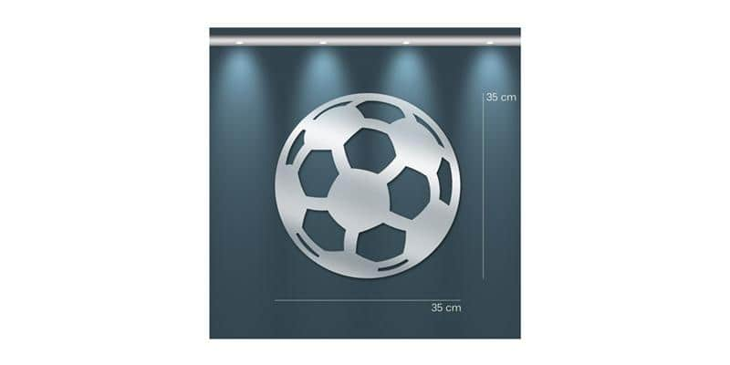 Tendance Miroir Ballon de Football M