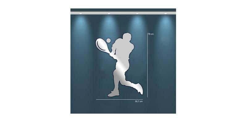 Tendance Miroir Joueur de Tennis M
