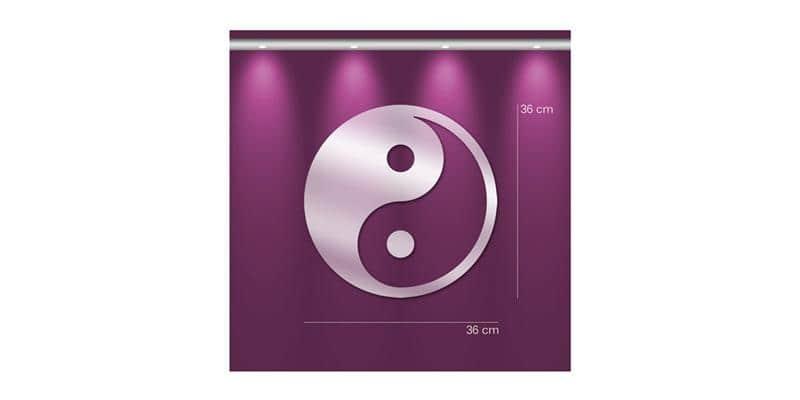 Tendance Miroir Yin Yang M