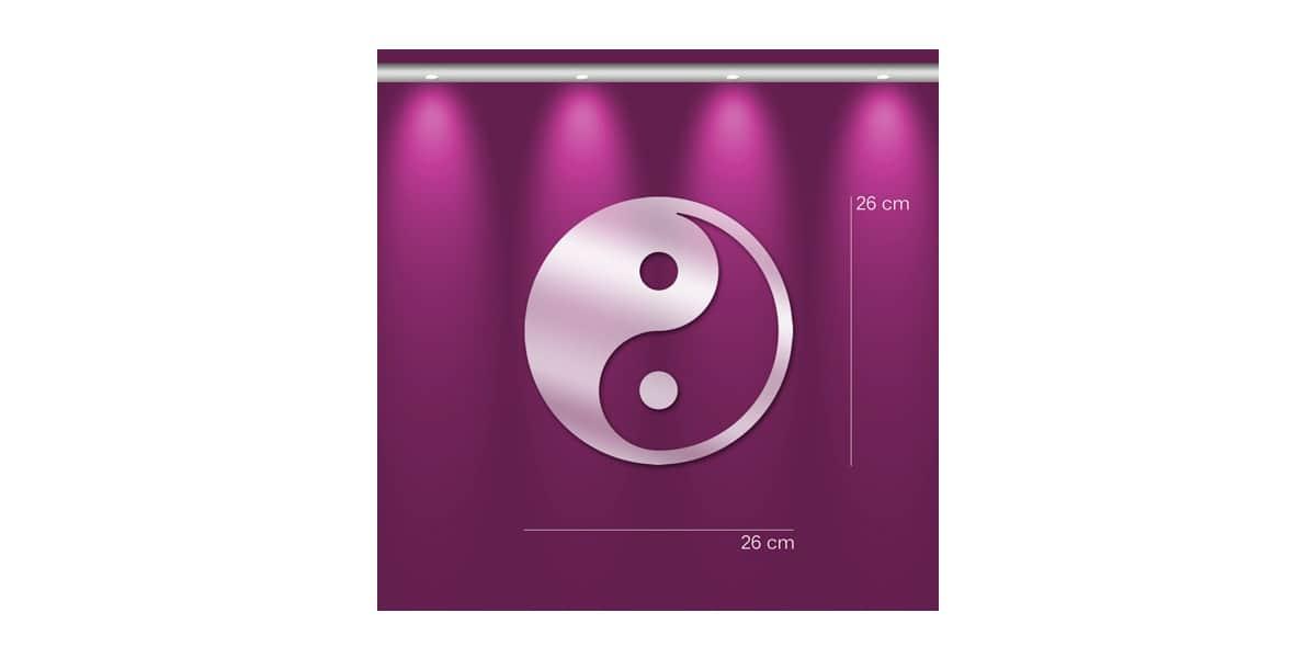 Tendance miroir yin yang s miroirs d co sur easylounge for Deco yin yang