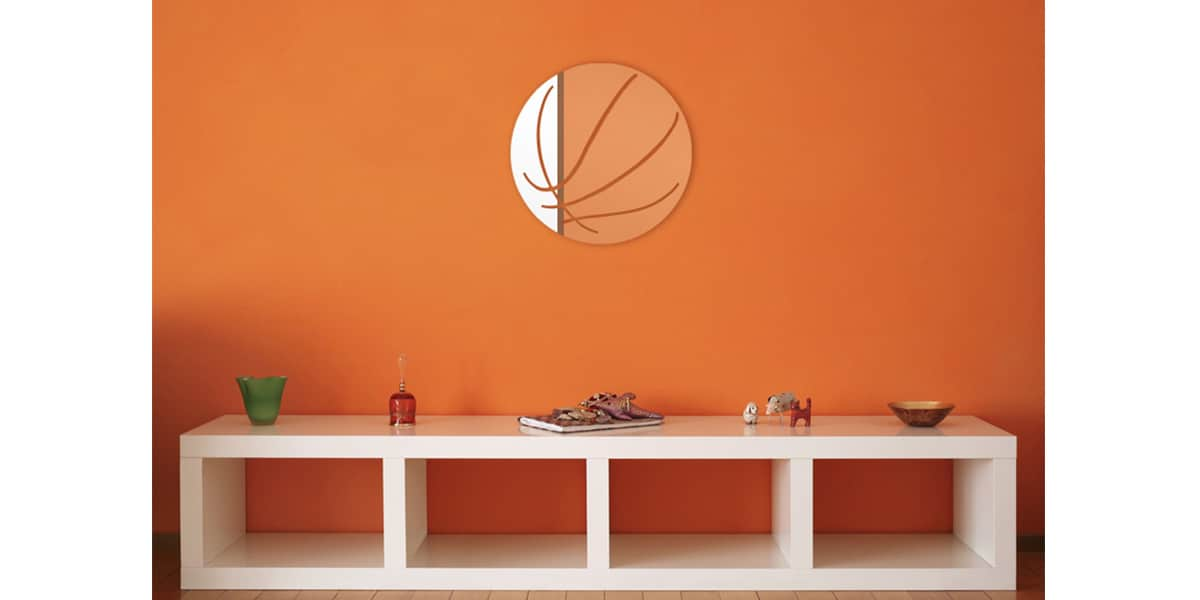 Tendance miroir ballon de basket s miroirs d co sur for Petit miroir decoratif