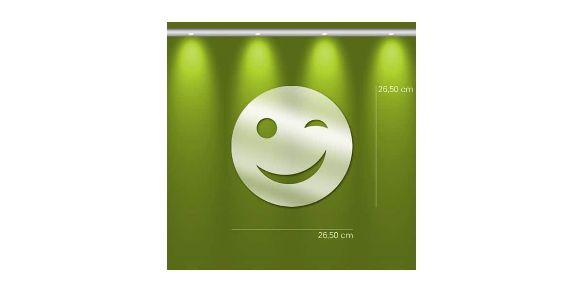 Tendance Miroir Smiley S