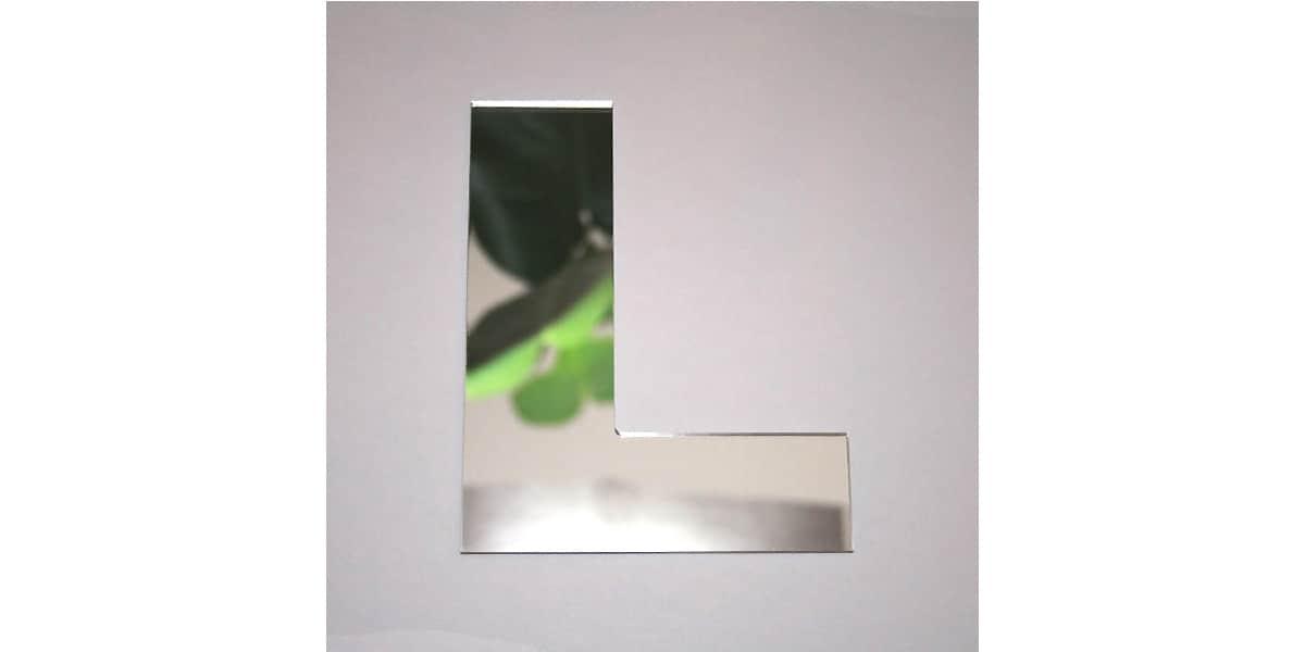 Tendance miroir lettre l large miroirs d co sur easylounge for Miroir tendance