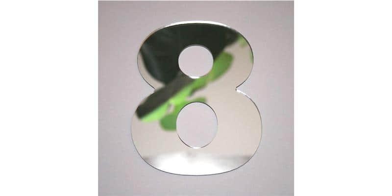 Tendance Miroir Chiffre 8 Big