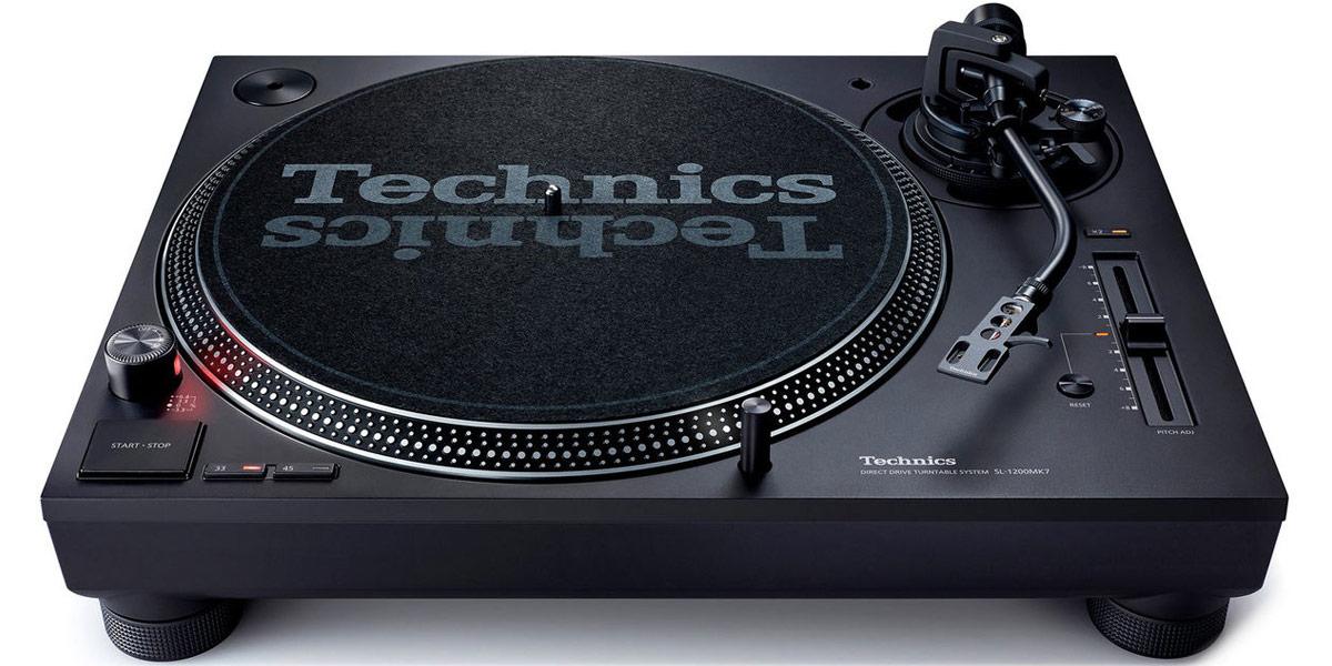 Technics SL-1210 MK7 Noir