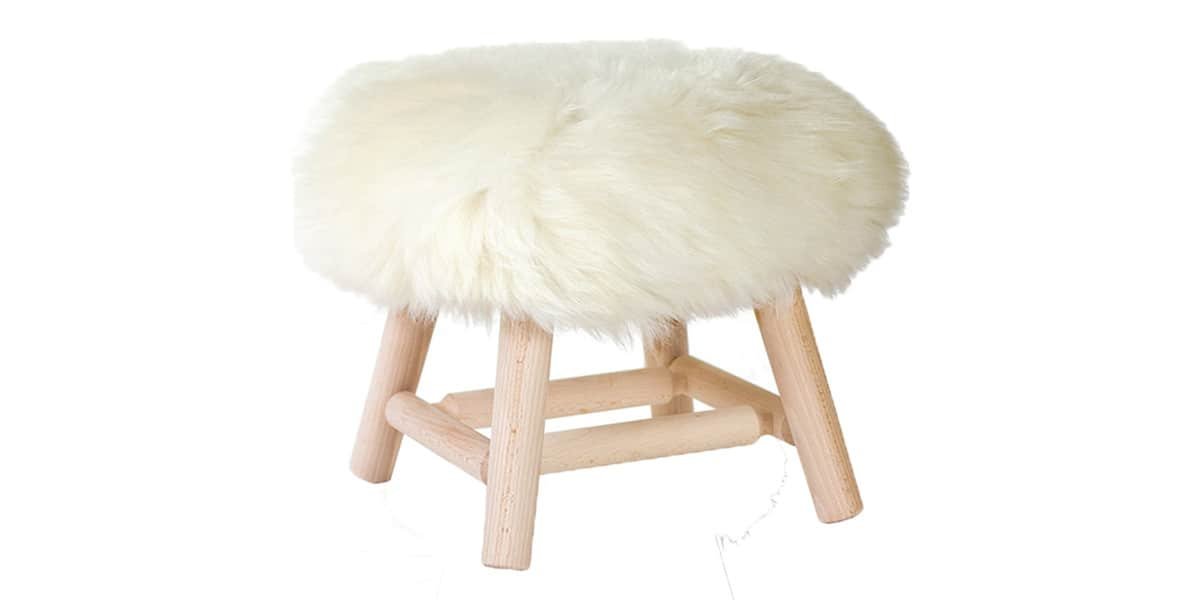 fab design stool bas poils courts blanc easylounge. Black Bedroom Furniture Sets. Home Design Ideas