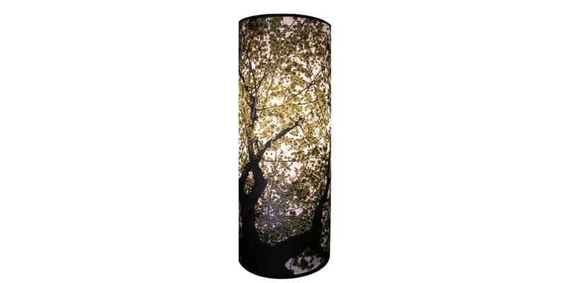 Touch of light lampe arbre lampes sur pied sur easylounge - Lampe tronc d arbre ...