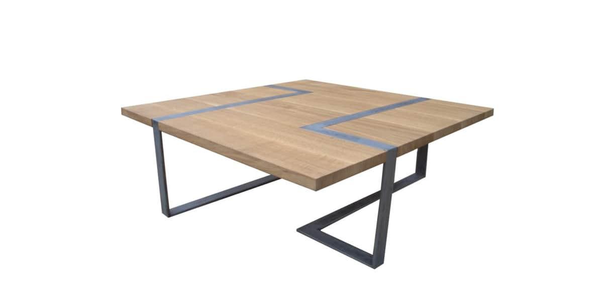 Atelier mobibois table basse nordic tables basses sur - Table basse atelier loft ...