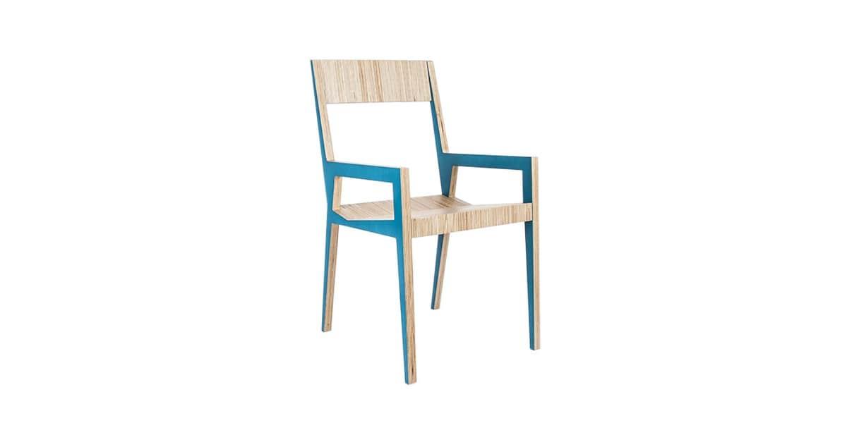 malherbe edition mickael bleu toutes les chaises sur easylounge. Black Bedroom Furniture Sets. Home Design Ideas