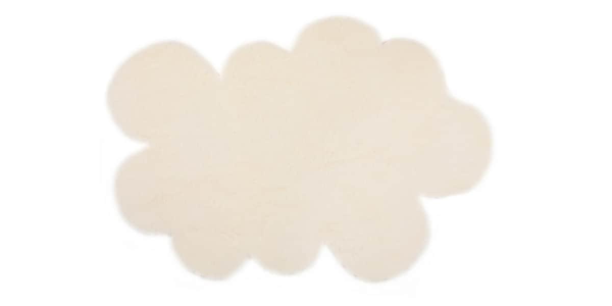 pilepoil petit nuage blanc tapis de salon sur easylounge. Black Bedroom Furniture Sets. Home Design Ideas