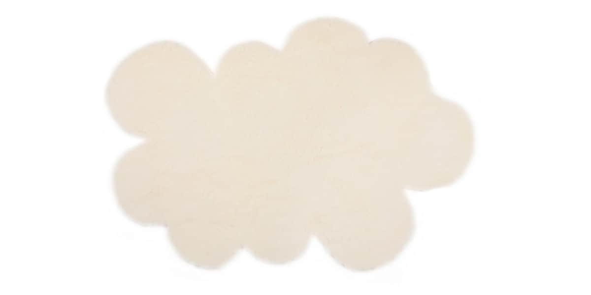 pilepoil grand nuage blanc tapis de salon sur easylounge. Black Bedroom Furniture Sets. Home Design Ideas