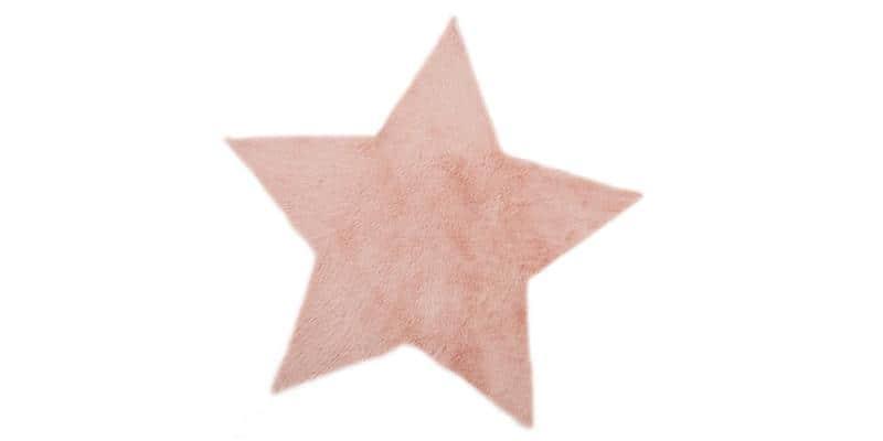 Pilepoil etoile rose poudr tapis de salon sur easylounge - Tapis etoile rose ...
