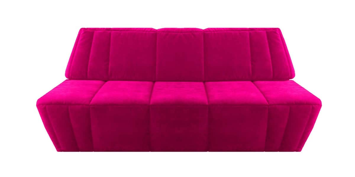 ultra sofa cosima rose canap s convertibles sur easylounge. Black Bedroom Furniture Sets. Home Design Ideas