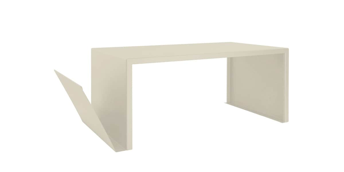 zhed table basse spirix beige tables basses sur easylounge. Black Bedroom Furniture Sets. Home Design Ideas