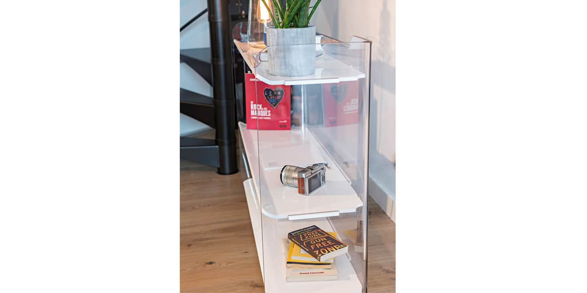david lange tempo transparent armoires de rangement sur easylounge. Black Bedroom Furniture Sets. Home Design Ideas