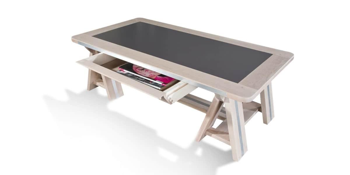 delmas tb r tendance beige tables basses sur easylounge. Black Bedroom Furniture Sets. Home Design Ideas