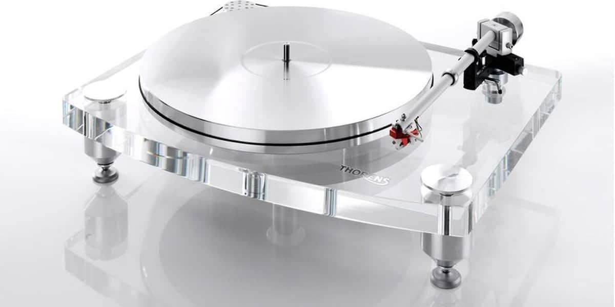 Thorens td2015 tp92 blanc easylounge - Platine vinyle design ...
