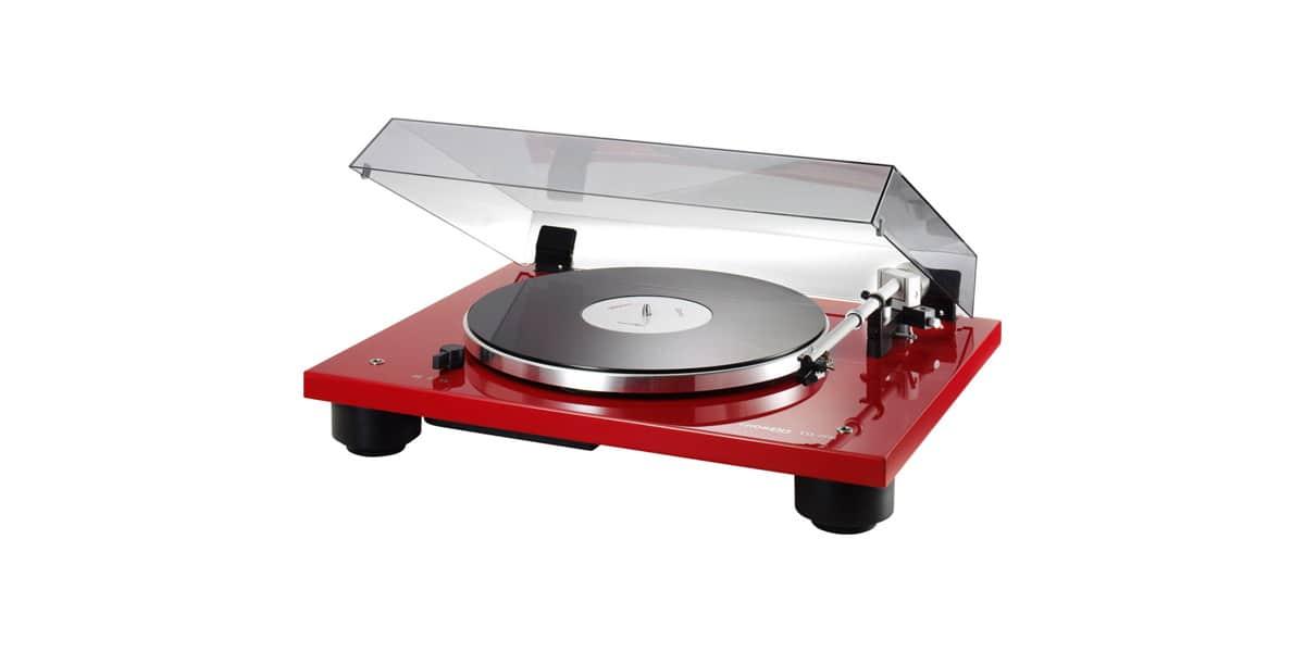 thorens td206 rouge platines vinyles audiophiles sur easylounge. Black Bedroom Furniture Sets. Home Design Ideas