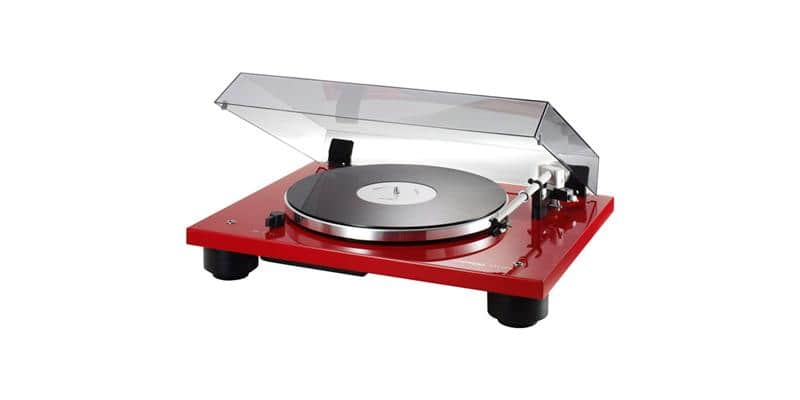 thorens td206 rouge platines vinyle hi fi sur easylounge. Black Bedroom Furniture Sets. Home Design Ideas