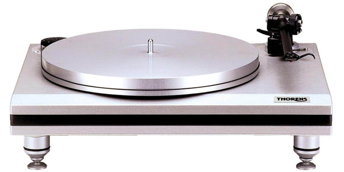 thorens td 850 argent platines vinyles audiophiles sur easylounge. Black Bedroom Furniture Sets. Home Design Ideas