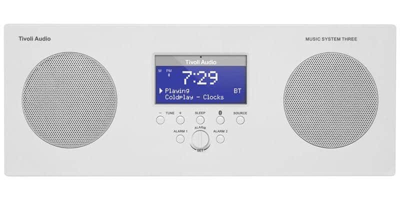 Tivoli Music System 3 Blanc